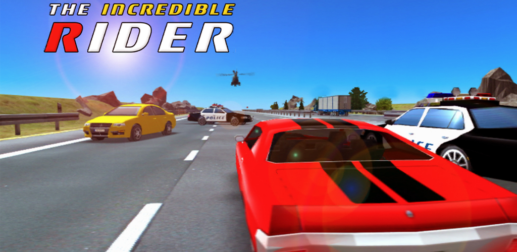 The Incredible Rider: Police Chase