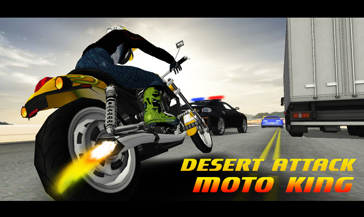 Desert Attack: Moto King