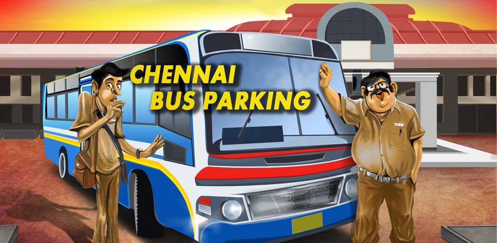 Chennai Bus Parking 3D